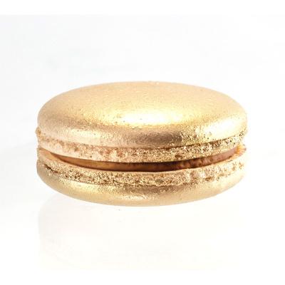 Макаруны золотые карамельные - Мастерская десертов CandyBar